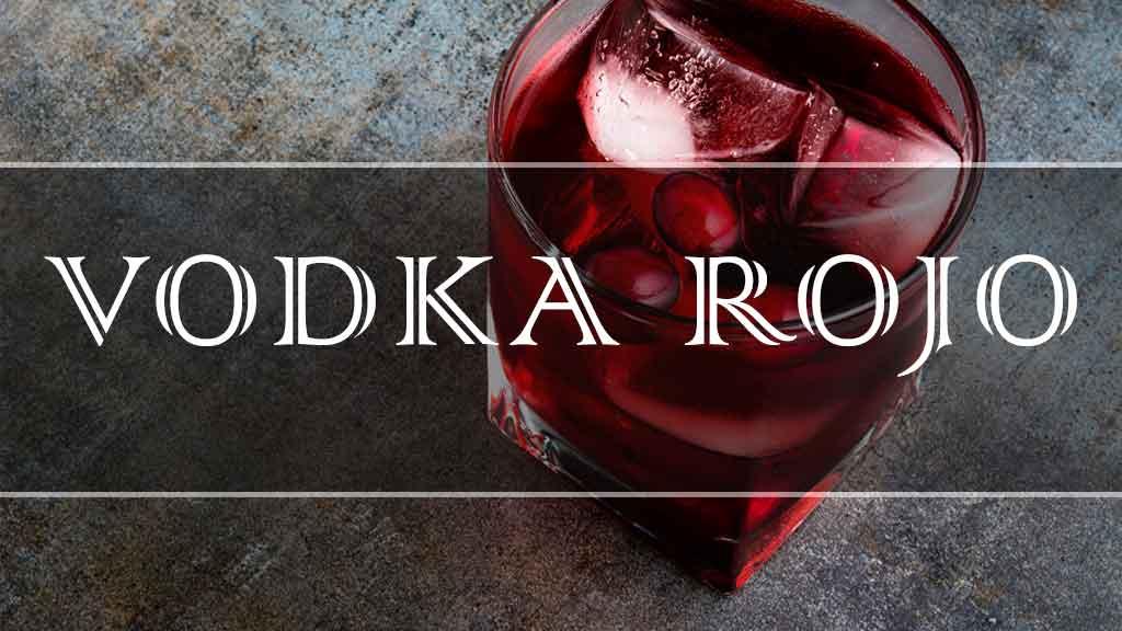 Vodka Rojo